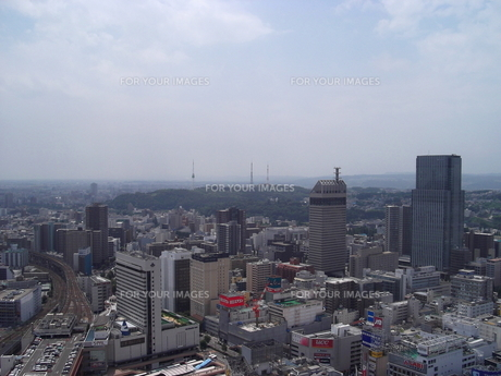 アエルから望む仙台の展望風景(大年寺方向)の写真素材 [FYI00442756]
