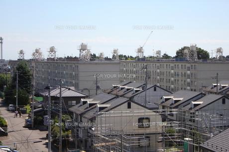 仙台市若林区文化町・JRアパートの写真素材 [FYI00442909]