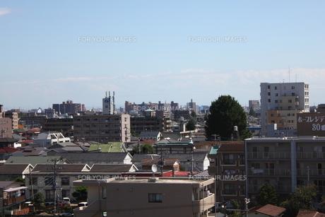 仙台市若林区の展望風景の写真素材 [FYI00442924]