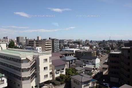 仙台市若林区連坊の展望風景の写真素材 [FYI00442926]