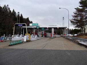八戸自動車道・九戸ICの写真素材 [FYI00443029]