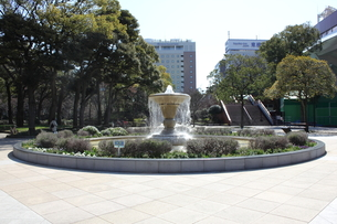 横浜公園の噴水の素材 [FYI00443044]