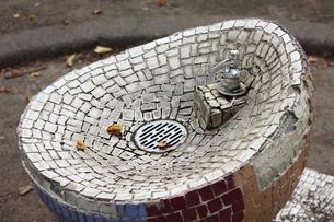 青森・平和公園の水飲み場の写真素材 [FYI00443167]