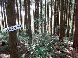 宇都宮・古賀志山の標識の写真素材 [FYI00443221]