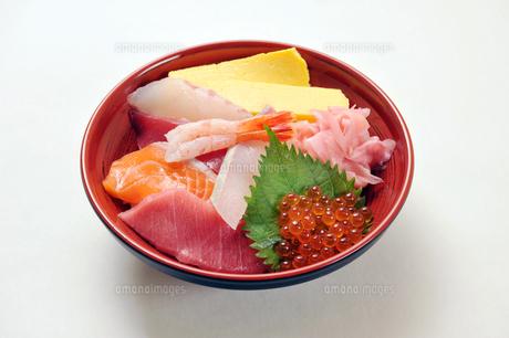 海鮮丼2の写真素材 [FYI00443286]