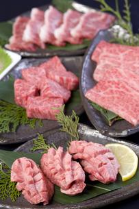 焼き肉セット5の写真素材 [FYI00443324]