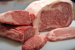 高級牛肉ブロック1の素材 [FYI00443331]