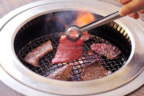 焼き肉と炎2の素材 [FYI00443334]