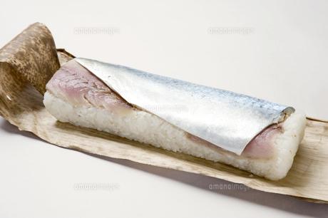 サバ寿司の写真素材 [FYI00443335]