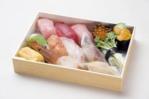 寿司折り詰め弁当-7の写真素材 [FYI00443363]