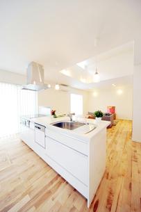 オープンキッチン1-3の写真素材 [FYI00443412]