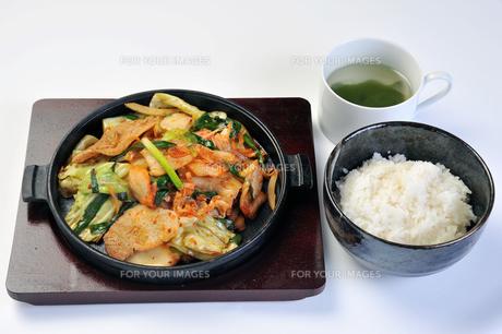 豚キムチ定食の素材 [FYI00443426]