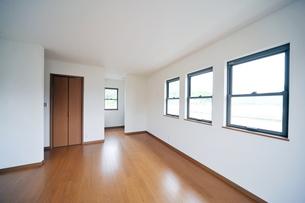 新築ベッドルーム1-1の写真素材 [FYI00443434]