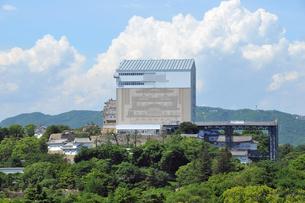 改修中の姫路城1-1の写真素材 [FYI00443456]