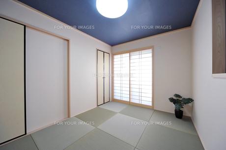 新築の和室1-1の写真素材 [FYI00443474]