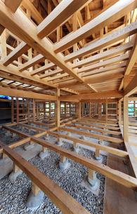 木造住宅構造1-5の写真素材 [FYI00443481]