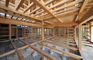 木造住宅構造1-4の写真素材 [FYI00443485]