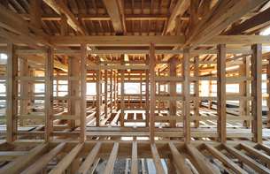 木造住宅構造1-3の写真素材 [FYI00443492]
