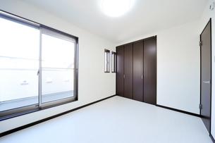 新築のベッドルーム1-5の写真素材 [FYI00443494]