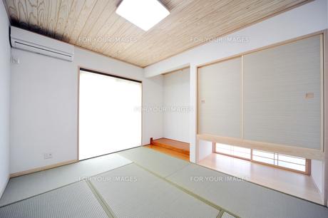 床の間のある和室1-1の写真素材 [FYI00443498]