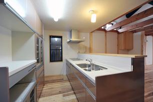 オープンキッチン1-5の写真素材 [FYI00443504]