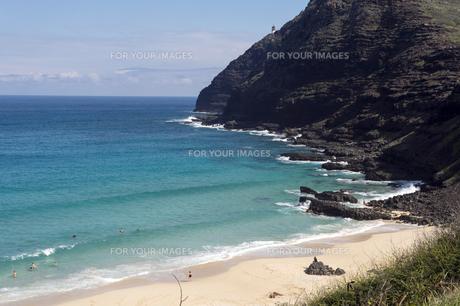 makapuu Beach Park Oafu Hawaii-3の素材 [FYI00443543]