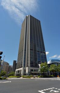 神戸市役所庁舎南東からの写真素材 [FYI00443554]
