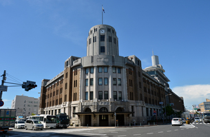 神戸税関庁舎東側の写真素材 [FYI00443555]