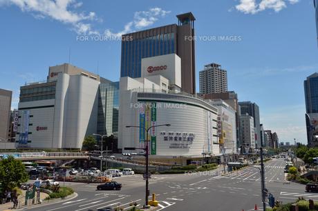 神戸市三宮フラワーロード南向きの写真素材 [FYI00443558]
