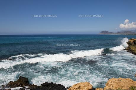 ハワイオアフ島の西海岸-3の素材 [FYI00443623]