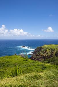 マウイ島北部カヌーヌーポイント-1の写真素材 [FYI00443694]