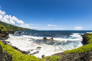 マウイ島クーロアポイントとハレアカラ国立公園-1の素材 [FYI00443712]