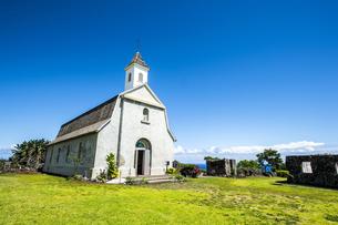 マウイ島セント・ジョセフ教会とハレアカラ国立公園-4の素材 [FYI00443719]