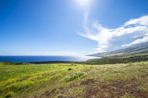 マウイ島ハレアカラ国立公園の東海岸-3の写真素材 [FYI00443731]