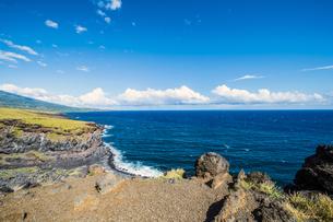 マウイ島ハレアカラ国立公園の東海岸-1の写真素材 [FYI00443735]