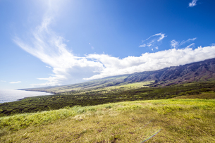 マウイ島ハレアカラ国立公園の東海岸-4の写真素材 [FYI00443742]