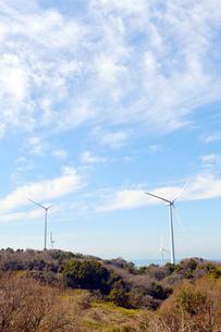風力発電機-1の写真素材 [FYI00443772]