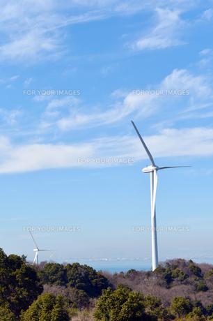風力発電機-3の写真素材 [FYI00443778]