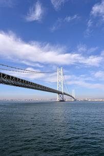 明石海峡大橋-4の写真素材 [FYI00443795]