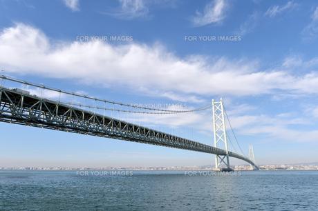 明石海峡大橋-3の素材 [FYI00443801]