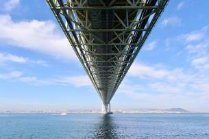 明石海峡大橋-2の写真素材 [FYI00443802]