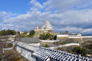 姫路城改修後-8の写真素材 [FYI00443816]