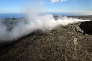 ハワイボルケーノ国立公園空撮-13の素材 [FYI00443829]