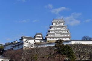 姫路城改修後-9の写真素材 [FYI00443831]