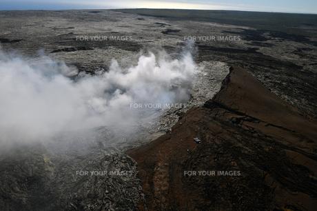 ハワイボルケーノ国立公園空撮-7の素材 [FYI00443850]