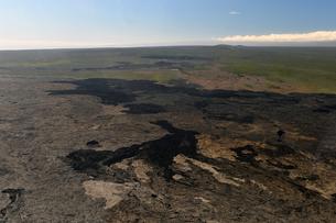 ハワイボルケーノ国立公園空撮-9の素材 [FYI00443858]