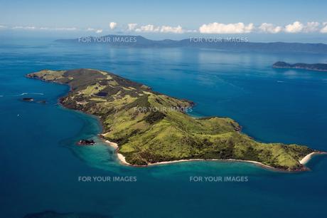 ウイットサンデー諸島空撮-1の写真素材 [FYI00443898]