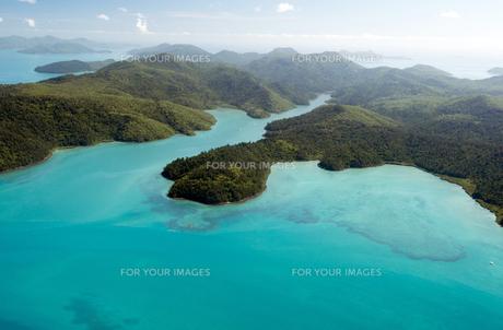 フックアイランド空撮-1の写真素材 [FYI00443899]