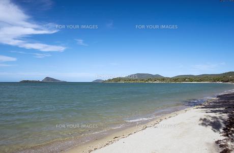 ディンゴビーチ、エアリービーチ、グレートバリアリーフ、クィーンズランド、オーストラリア-3の写真素材 [FYI00443951]