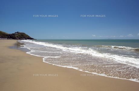 ブラックスビーチ、オーストラリア-1の写真素材 [FYI00443953]